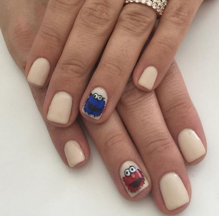 14 Nail Designs Brought To You By Sesame Street And The Letter N
