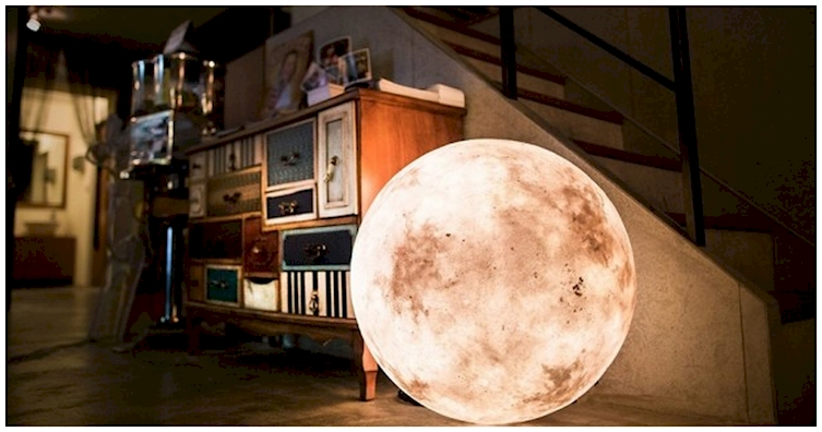 Luna Lights Are The Brilliant Decor Idea