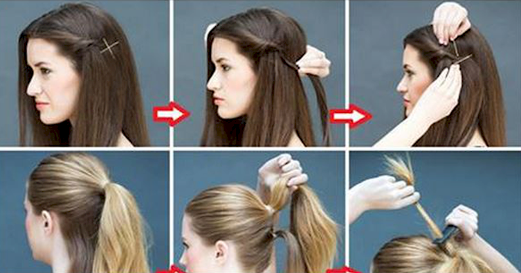 16 Super Simple Hairstyles For The Lazy Girl In All Of Us
