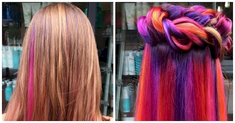 Lastestgistworld 12 Gorgeous Hidden Hair Colors You Ll Totally Want