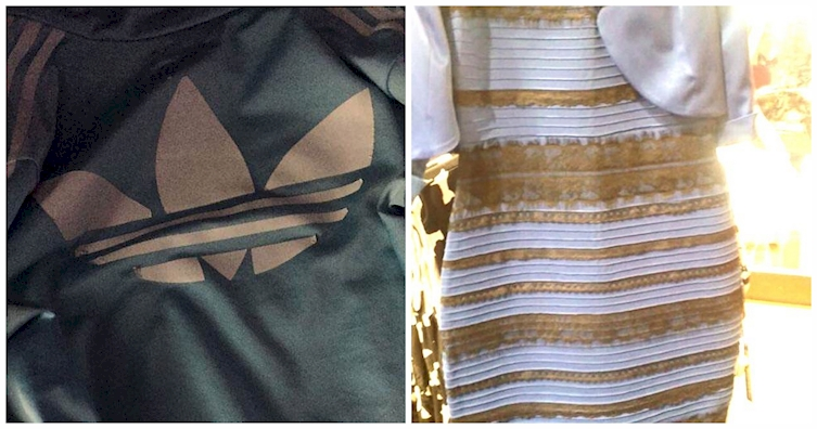 Dress different colors to different people