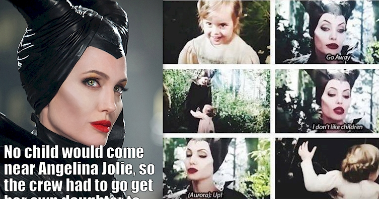 Angelina Jolie Was So Terrifying In 'Maleficent' They Had To Do This