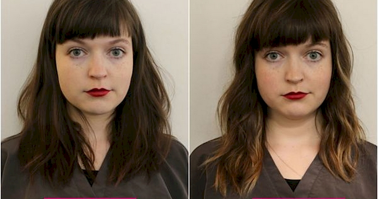 Check Out The Newest Hair Trend: Hair Contouring!