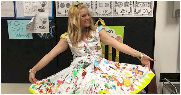 This Teacher Gave Her Students A Chance To Be Creative On The Last Day Of School