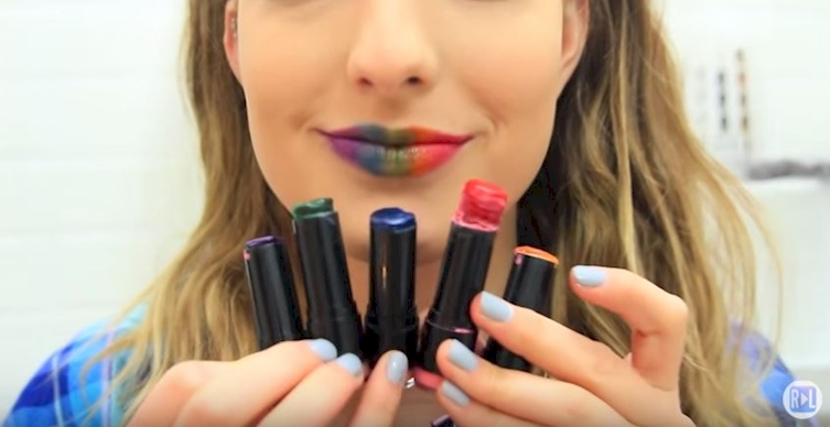 Create Your Very Own Lipstick With Three Simple Ingredients