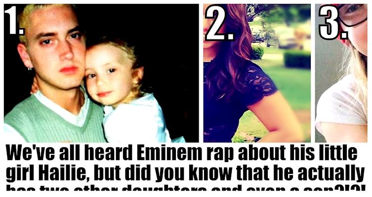 Here's Eminem's Biggest Hidden Secret: He Has A Lot Of Kids