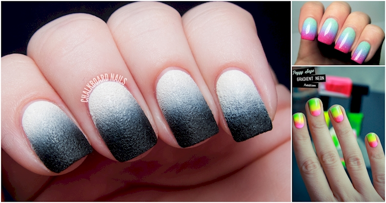 Gorgeous gradient nail art designs for the perfect manicure prinsesfo Images