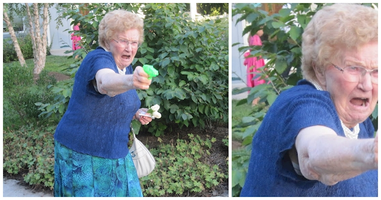 When Grandma's Gun Ignites A Photoshop Battle, We All Win